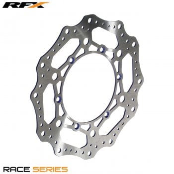 RaceFX Race Front Disc - Yamaha YZ 125/250 16>On, YZF 250/450 16>On - Blue