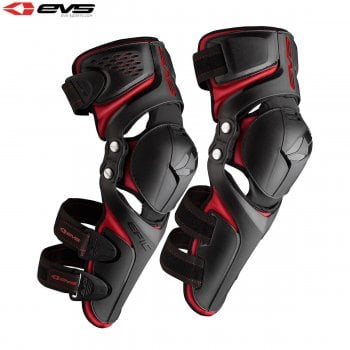 EVS Adults Epic Knee Guards - Black