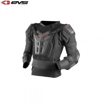 EVS Youth Comp CE Approved Armour Pressure Suit -Black