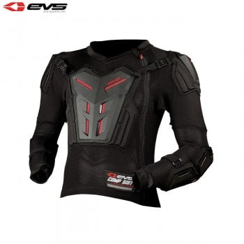 EVS Youth Comp Armour Pressure Suit - Black