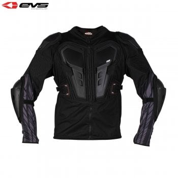 EVS Adults G6 Ballistic Jersey Body Armour - Black