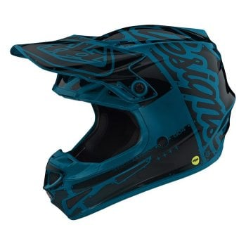 Troy Lee Youth SE4 Factory Ocean Helmet