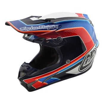 Troy Lee Adults 2019 SE4 Carbon Helmet - Squadra
