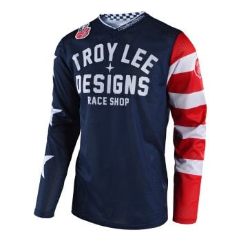 Troy Lee Youth 2019 GP Air Jersey - Americana Navy