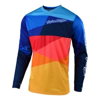 Troy Lee Youth 2019 GP Air Jersey - Jet Navy/Orange