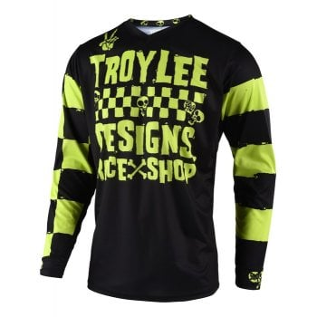 Troy Lee 2019 GP Youth Jersey - Raceshop 5000 Lime