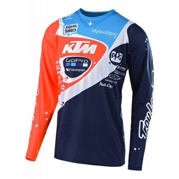 Troy Lee Adults 2019 SE Pro Team KTM Jersey - Neptune
