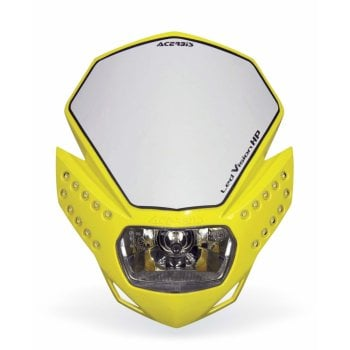 Acerbis LED Vision HP Headlight Unit - Yellow