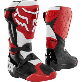 Fox 2019 Adults Comp-R Boots - Red/ Black/ White