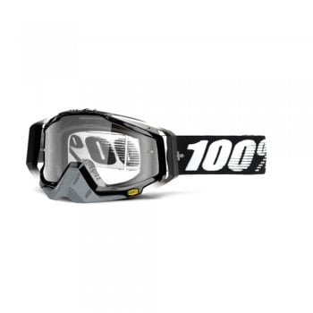 100% Racecraft Goggles - Abyss With Clear Lens