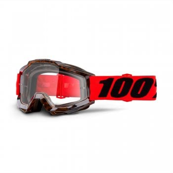 100% Accuri Goggles - Vendome With Clear Lens