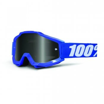 100% Accuri Sand Goggles - Reflex Blue With Grey Smoke Lens