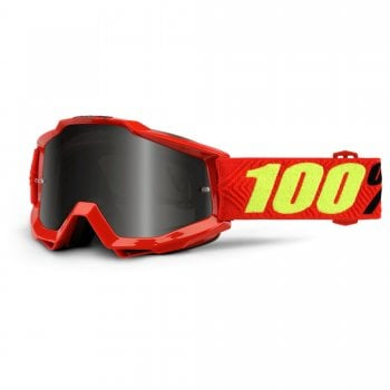 100% Accuri Sand Goggles -  Saarinen With Grey Smoke Lens