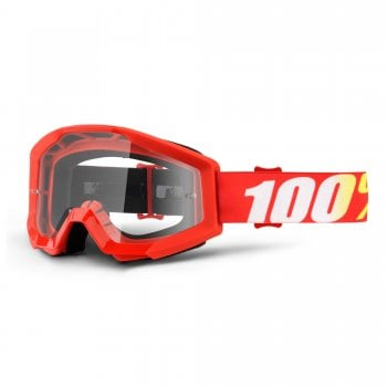 100% Strata Goggles - Furnace With Clear Lens