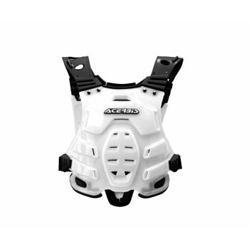 Acerbis Adults Profile Roost Deflector Chest Armour - White