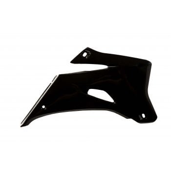 Acerbis Radiator Scoops To Fit Yamaha YZF250/450 2006-09 - Black