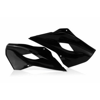 Acerbis Radiator Scoops - Various Husqvarna FC/ FE/ TC/ TE Models - Black