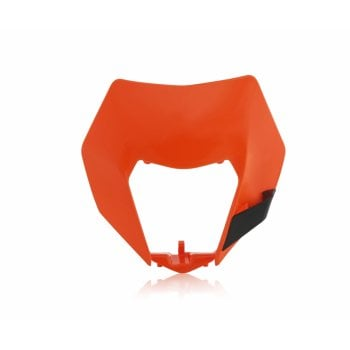 Acerbis Headlight Mask - Various KTM EXC and EXC-F 14-16 Models - Orange