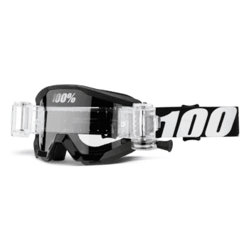 100% Adults Strata Mud Roll Off Goggles - Outlaw
