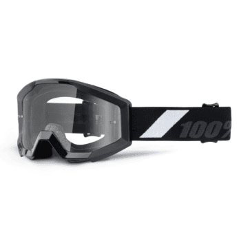 100% Youth Strata MX Goggles - Goliath / Clear Lens
