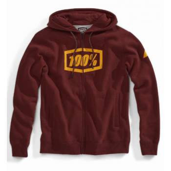 100% Adults 2019 Syndicate Zip Hooded Sweatshirt