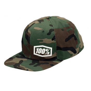 100% Adults Machine Snapback Hat