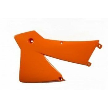 Acerbis Radiator Scoops To Fit KTM EXC/ EXC-F 2003-04, SX125/ 250 2001-04 - Orange