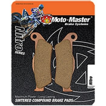 Moto Master Nitro Front Brake Pads - Honda CR/CRF 96-ON YZF250 01-06, YZF450 01-07, YZ125/250 98-07 KX/KXF 95-ON RM/RMZ 96-ON