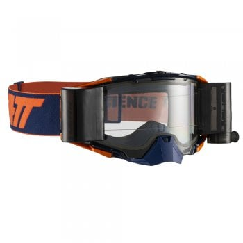 Leatt Adults 2019 Velocity 6.5 Roll Off Goggles with Clear Lens - Ink/ Orange