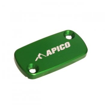Apico Front Brake Master Cylinder Cover - Honda/Kaw/TM/Beta CR/CRF 96-19, KXF450 2019 - Green