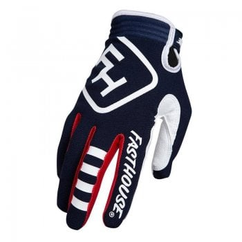 Fasthouse Adults Speed Style Patriot Motocross Gloves