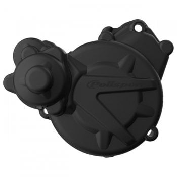 Polisport Ignition Cover Protector - Gas Gas EC/XC 250-300 2017-19 - Black