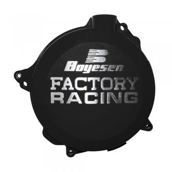 Boyesen Clutch Cover - Honda CRF450R 2002-08, TRX450 2004-09 - Black