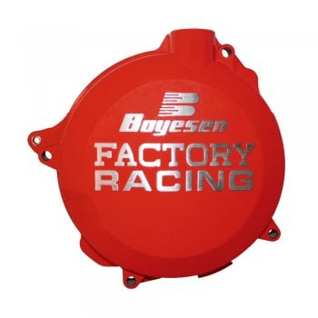 Boyesen Clutch Cover - Honda CRF250R 2010-17 - Red