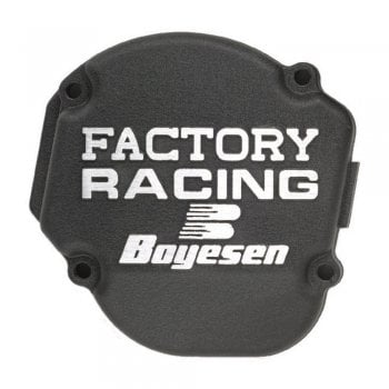 Boyesen Ignition Cover - Yamaha YZ250 1999-2019, YZ250X 2016-19 - Black
