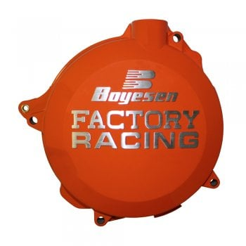 Boyesen Clutch Cover - KTM SX250 2T 03-12, EXC/XC250 03-12, EXC/XC300 03-12 - Orange
