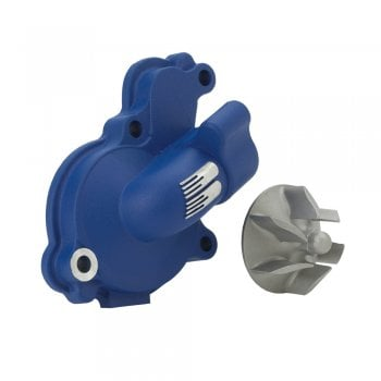 Boyesen Supercooler Water Pump Kit - Yamaha YZ125 2005-18 - Blue