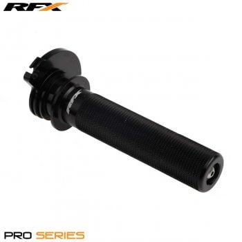 RaceFX Pro Throttle Tube - Yamaha YZ80/85 1983-On - Black
