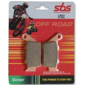 SBS 840SI Sintered Brake Pads - Front - Yamaha YZ125/250 2008-16, YZF250 2007-19, YZF450 2008-19