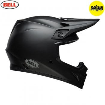 Bell 2020 Adults MX-9 MIPS Helmet - Solid Matte Black