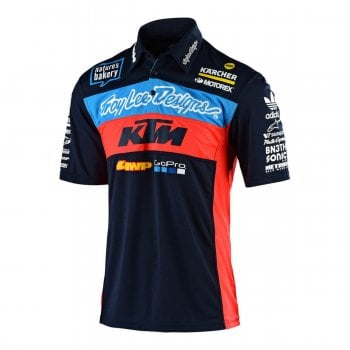 Troy Lee Adults 2019 Official Team KTM Pit Shirt