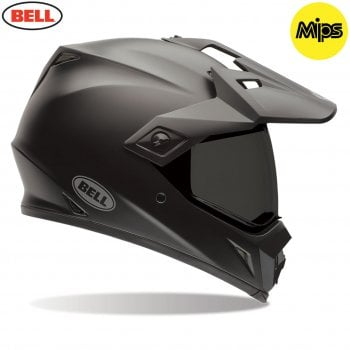 Bell 2020 Adults MX-9 Adventure MIPS Helmet - Matte Black