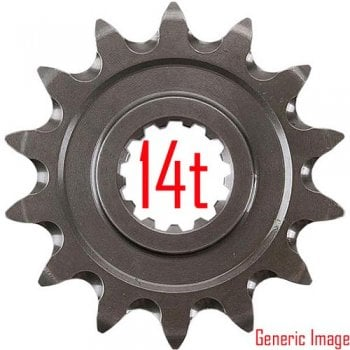 Renthal Front Sprocket - KTM SX65 2009--Onwards - 14T