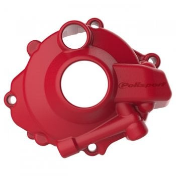 Polisport Ignition Cover Protector - Honda CRF250R 2018-19 - Red