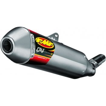 FMF Q4 Hex Slip-On Aluminium Silencer - Suzuki RMZ250 2013-18