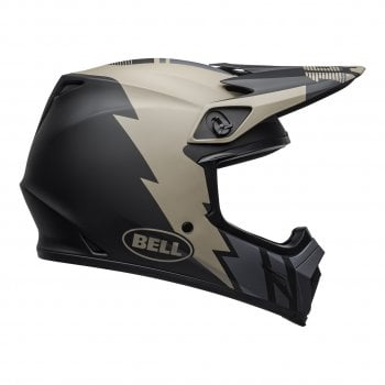 Bell 2020 Adults MX-9 MIPS Helmet - Strike Matte Khaki/Black