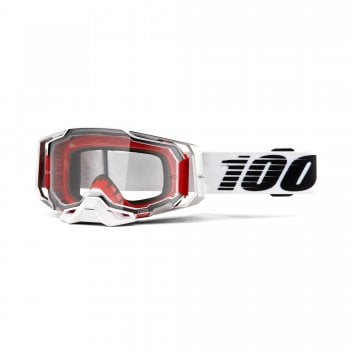 100% Adults Armega Goggles - Lightsaber With Clear Lens