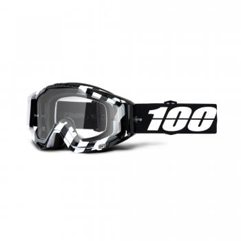 100% Adults Racecraft Goggles - Alta With Clear Lens