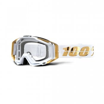 100% Adults Racecraft LTD Goggles With Clear Lens