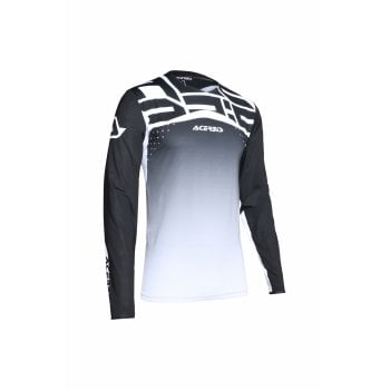 Acerbis Adults X-Flex Sirio Jersey - Black/ White